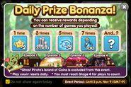Daily Prize Bonanza November