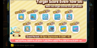 Target Score Event