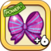 Purple Ribbon Bow+6