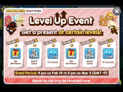 Level Up Event for February