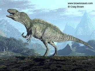 485px-2 Acrocanthosaurus Craig Brown 550 watermark
