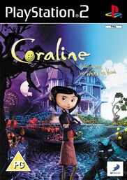 Coraline PS2 cover