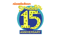 Spongebob 15th anniversary logo