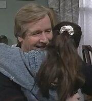 Ken hugs tracy