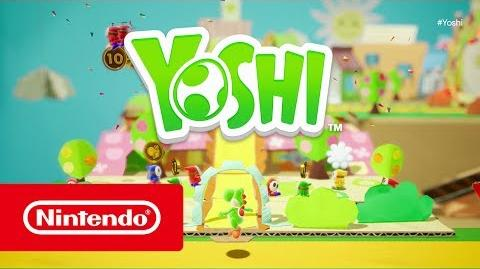 Yoshi (título provisional) - Tráiler E3 2017 (Nintendo Switch)