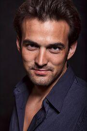 019256092 Young attractive brunette twenties caucasian man