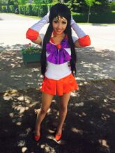 Kitty Young - Sailor Mars