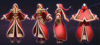 Jaina - Winter cosplay
