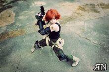 DeAnna Davis - Meryl Silverburgh - Metal Gear