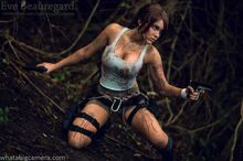Eve Beauregard-Lara Croft