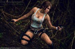 Eve Beauregard-Lara Croft