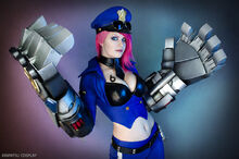 Tayla Barter - Officer Vi