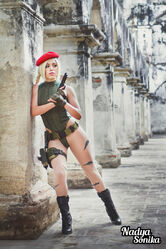Nadyasonika - Cammy - StreetFighter