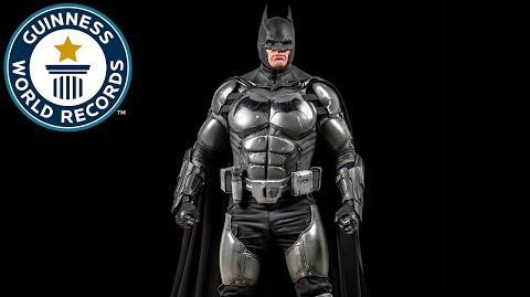 Batman Cosplay Breaks World Record - Meet the Record Breakers