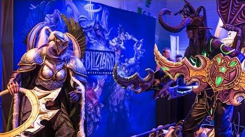 Gamescom 2015 Epic Cosplay BlizzGC2015
