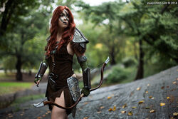 Monika Lee - Aela the Huntress