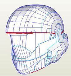 Kirrou hd odst rookie helmet