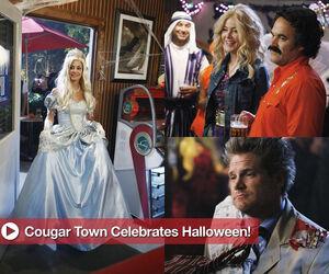 Cougar Town Halloween