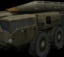 Lanzador de misiles Scud