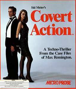 Sid Meiers Covert Action Coverart