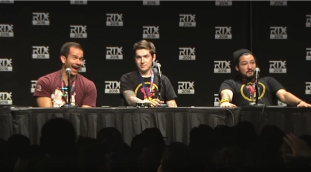 File:RTX 2nd Cow Chop Panel 2016 Reacting to the greatest question in RTX history.PNG