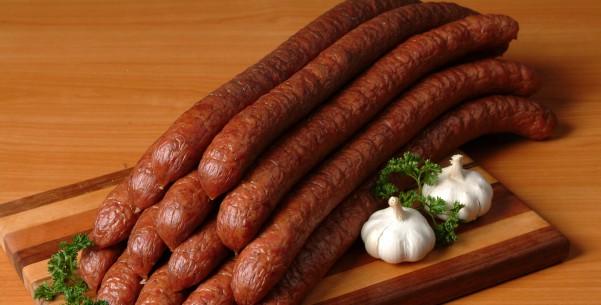 File:Polish smoked kielbasa.jpg