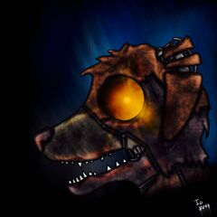 Animatronic Rex drawn by Io8044