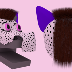 When I was going to make Speckles a 3d model GOD THE HAIR WAS HELL