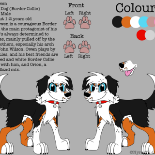 Owen's reference sheet.