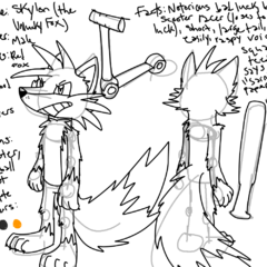 Some reference sheet thing I made a while back.