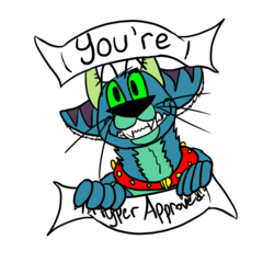 You're Hyper Approved Badge Thing