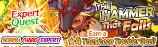 The Hammer That Falls Quest Banner
