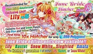 June Bride Hatcher side B Banner 1