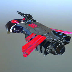Aquila Rapax Rendered Image