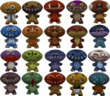 COTT Enemies Voodoo Dolls