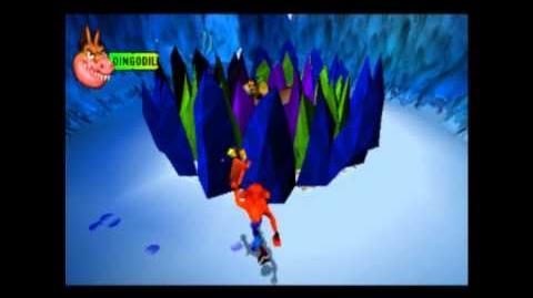 Dingodile - Boss 2 - Crash Bandicoot 3 Warped - 105% Playthrough (Part 9)