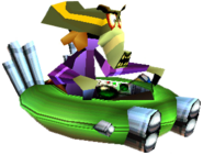 Crash Team Racing Nitros Oxide In-Kart