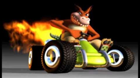 CTR Dingodile voice taunts quotes lines Crash Team Racing