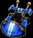 Crash Nitro Kart Team Bandicoot Kart