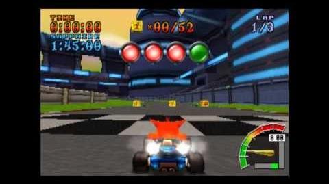 Turbo Track - Platinum Relic - Crash Team Racing - 101% Playthrough (Part 64)
