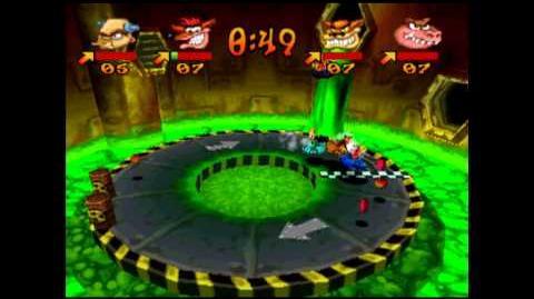 Toxic Dash - Gem - Crash Bash - 200% Playthrough (Part 65)