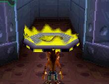 Crash DS teleport pad