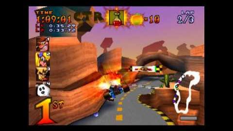 Dingo Canyon - CTR Challenge - Crash Team Racing - 101% Playthrough (Part 31)