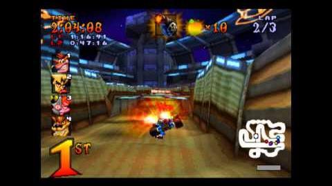 Tiny Arena - Trophy Race - Crash Team Racing - 101% Playthrough (Part 14)