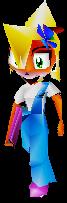 Crash 3 Coco Bandicoot