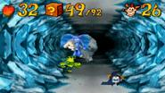 Crash Bandicoot as an Angel Carrying Polar