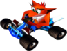 Crash Team Racing Crash Bandicoot In-Kart