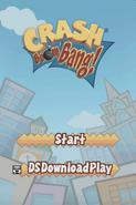 Crash Boom Bang Title Screen