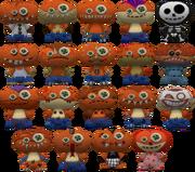 COTT Skins Voodoo Dolls