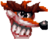 Fake Crash Bandicoot CTR Icon